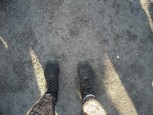 Primavera feet by Nancy Junion