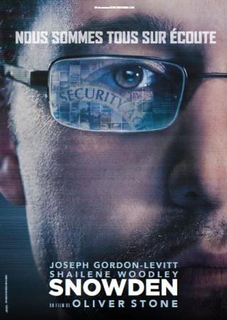 Snowden - Film - Affiche