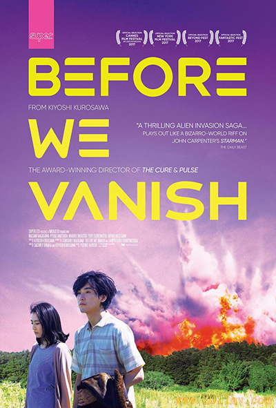 Before We Vanish - Affiche film